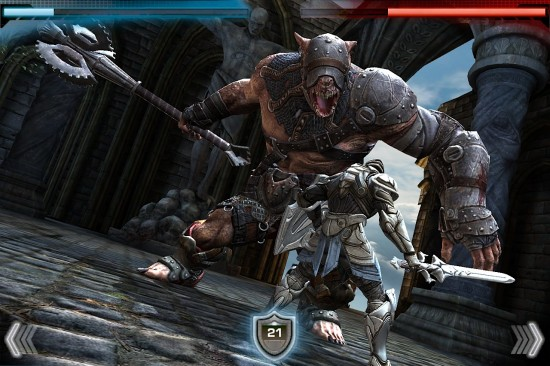 Infinity Blade, da Epic Games