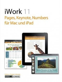 Capa de livro sobre o iWork 11