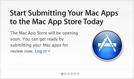 Envio de apps para a Mac App Store