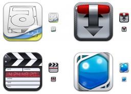 Ícones para Mac no estilo Flurry