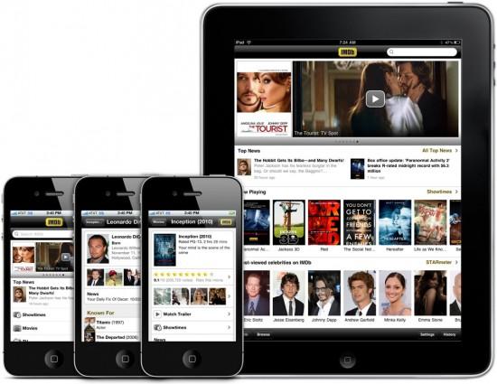 IMDb 2.0 em iPhones e iPad