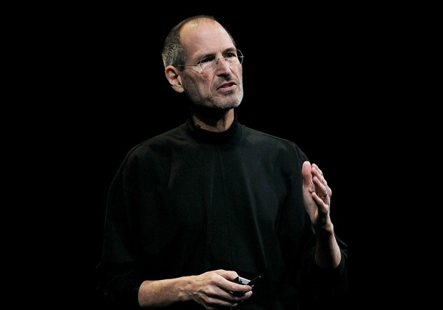 Steve Jobs gesticulando