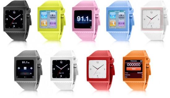 HEX Watch Band para iPods nano 6G