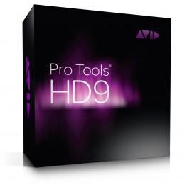 Caixa do Pro Tools 9, da Avid