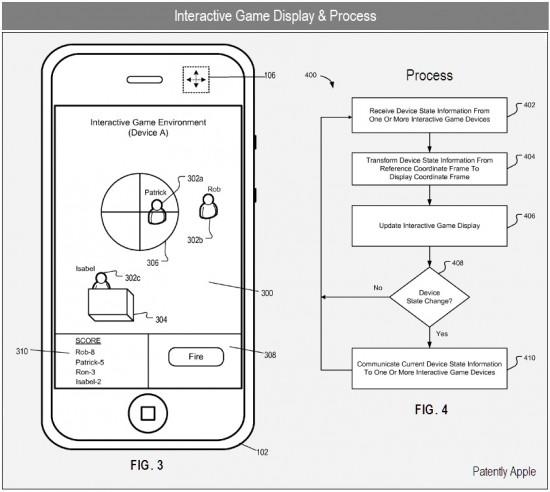 Patente de multiplayer com realidade aumentada