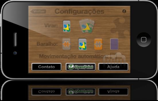 iPaciência no iPhone