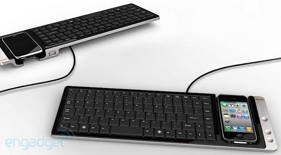 WOWKeys, teclado com dock para iPhone - Omnio