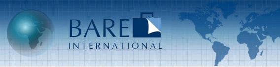 Logo da BARE International