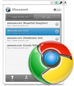 1Password 3.5 pro Google Chrome