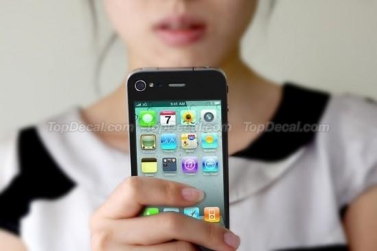 Adesivo de iPhone para traseira