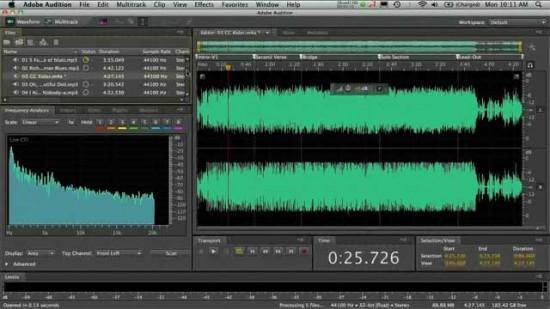 Adobe Audition para Mac