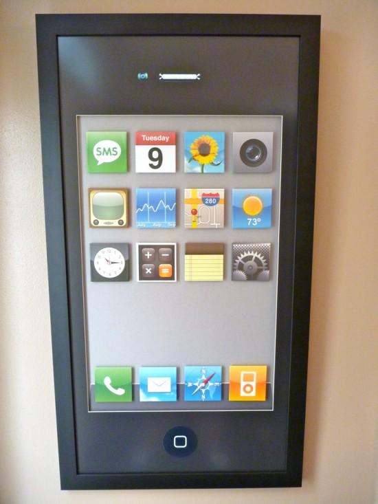 Quadro de iPhone