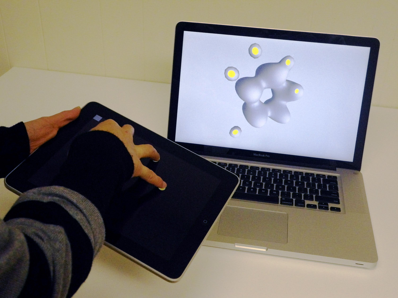 Modelagem 3D com iPad via Beautiful Modeler