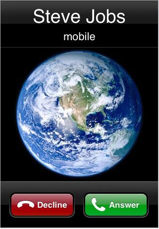 Recebendo uma ligação de Steve Jobs