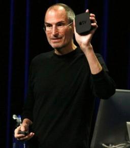 Steve Jobs com Apple TV