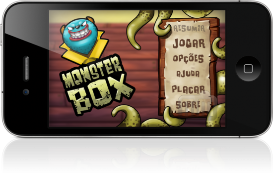 Monster Box no iPhone