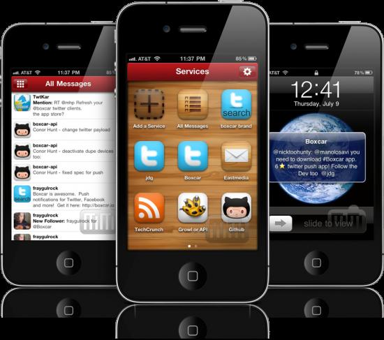 Boxcar 4.0 em iPhones