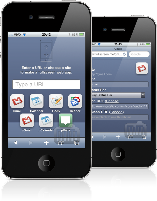 fullscreen.me - iPhone
