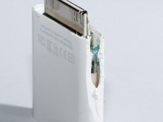 Leitor de cartões SD desmontado pela iFixit