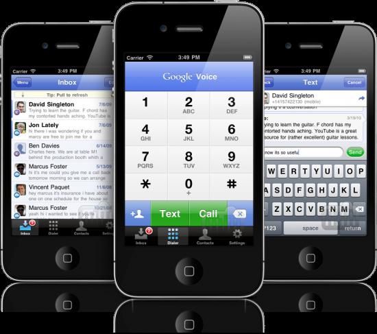 Google Voice - iPhone