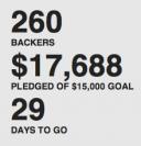 TikTok e LunaTik no Kickstarter