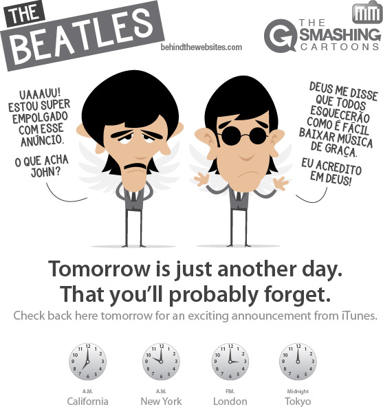 The Smashing Cartoons - The Beatles