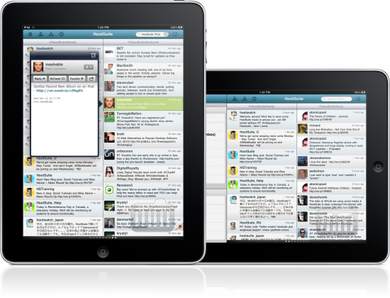 HootSuite - iPad