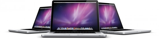 Família de MacBooks Pro