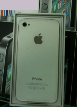 iPhone 4 branco genuíno - Giz-China