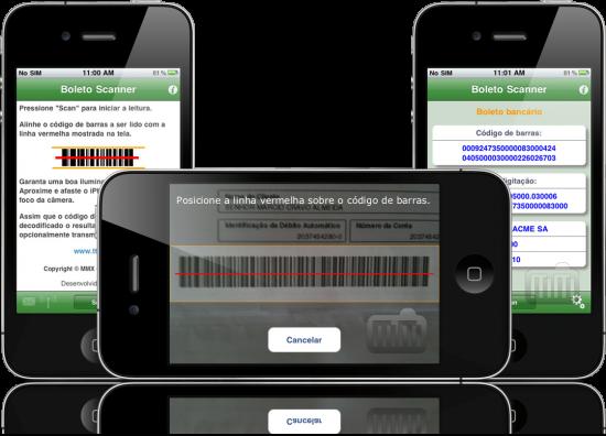 Boleto Scanner - iPhone