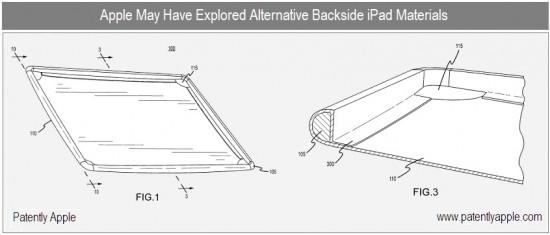 Estrutura de fibra de carbono no iPad