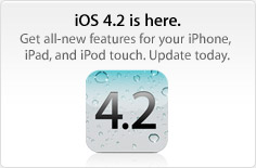 iOS 4.2 chegando