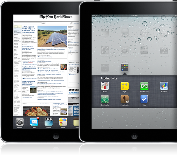 iPad com iOS 4.2 e multitarefa