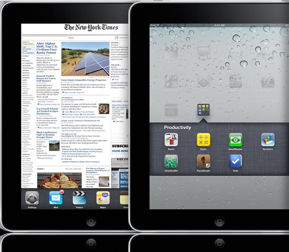 iPad com iOS 4.2 e multitarefa
