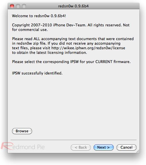 redsn0w para iOS 4.2.1