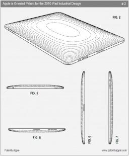 Patente do design industrial do iPad