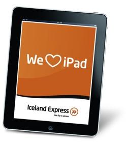 iPad na Iceland Express