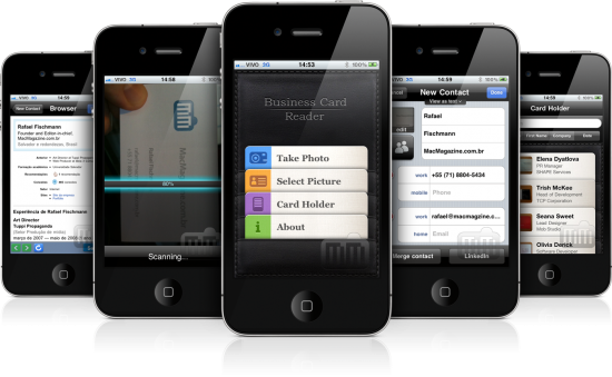 Business Card Reader - iPhone