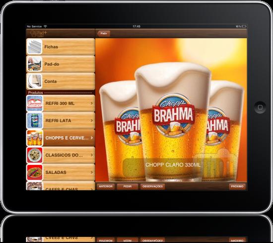 Bar Brahma no iPad
