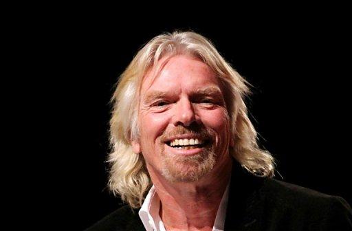 Richard Branson, presidente da Virgin