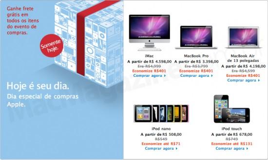 Black Friday na Apple Online Store Brasil
