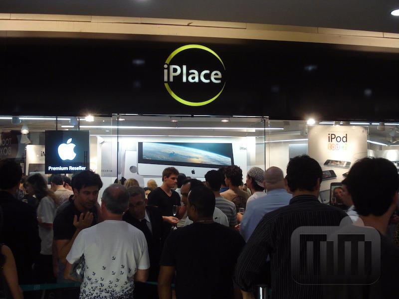 Inauguração da iPlace do Shopping DiamondMall, em Belo Horizonte