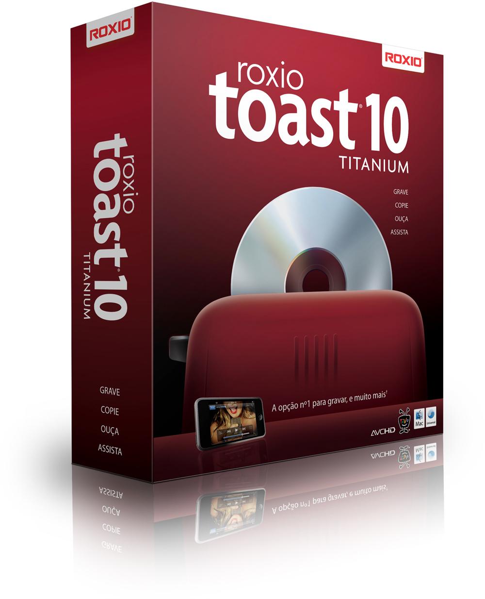 Caixa - Roxio Toast 10 Titanium