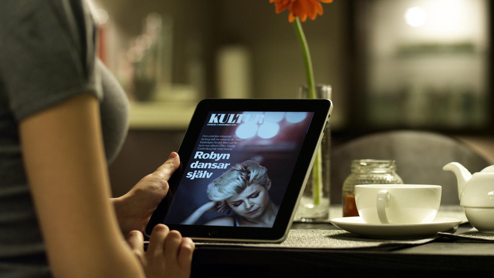Bonnier News+ para iPad
