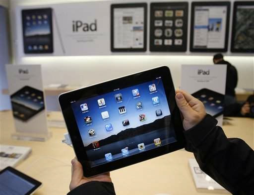 iPad em Apple Retail Store