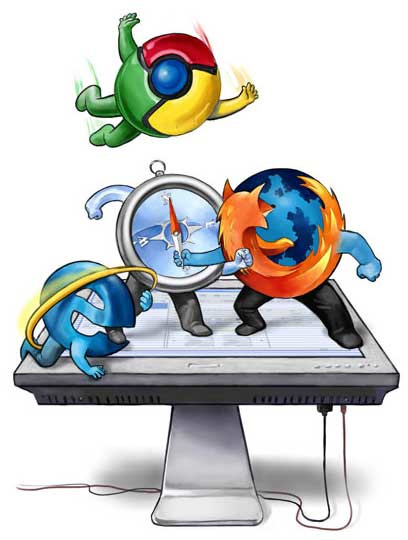 Guerra de browsers/navegadores