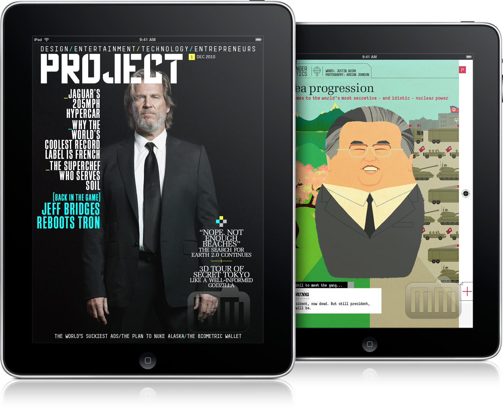 Project - iPad