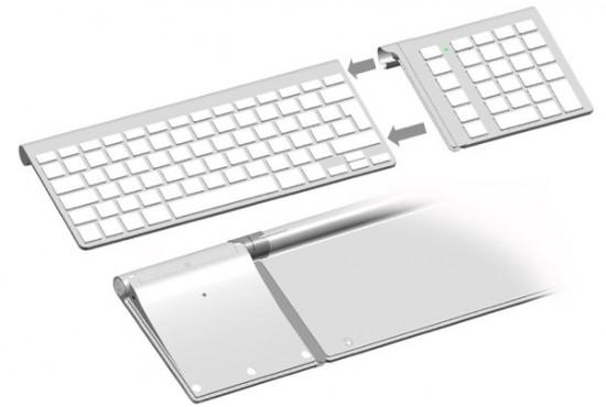 Encaixe de teclado numérico sem fio