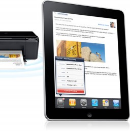 AirPrint com iPad e impressora