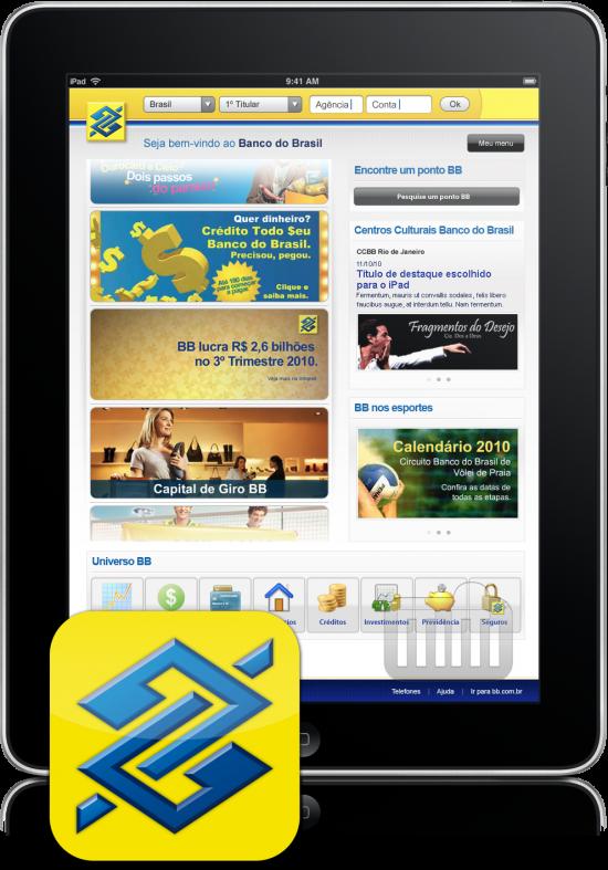 Banco do Brasil para iPad